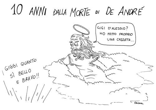 Fabrizio de André vignetta