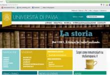 """WWW.UNIPV.EU: """"WEB RESTYLING"""" DA 30 E LODE"""
