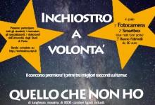 Il concorso letterario di Inchiostro: la locandina