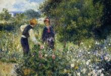 """""""La vita è un mazzo di fiori rossi."""" Renoir a Pavia"""