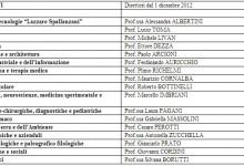 Eletti i Direttori di Dipartimento dell'Università di Pavia