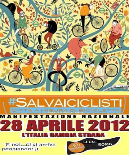 Obiettivo Lavoro Pavia: Buon Compleanno, #salvaiciclisti!