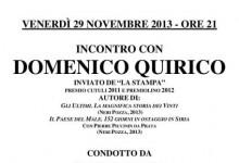 Domenico Quirico racconta il Male