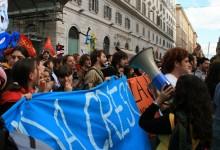 Da Pavia fino alla Sapienza.. cronaca di una manifestazione