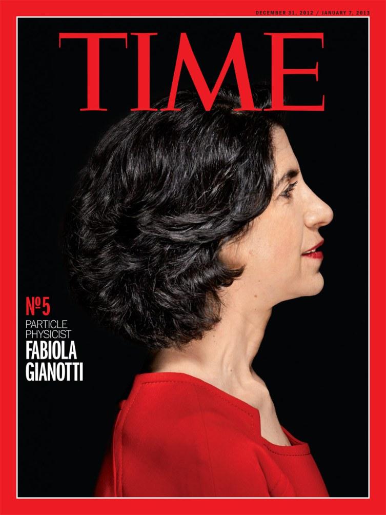 Fabiola Gianotti, fisica italiana sulla copertina del Time