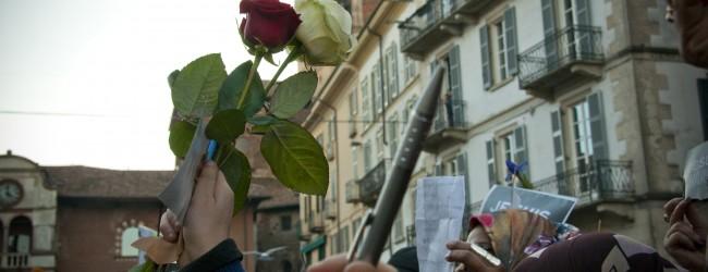 Manifestazione a Pavia Charlie Hebdo