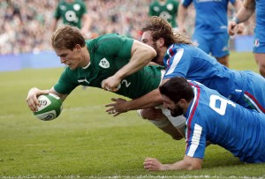 Rugby 6 Nazioni, Irlanda vs Italia