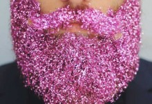 … l'avresti mai detto? The glitter beards!