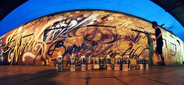 Graffiti VS Street art – Un nuovo volto per i treni