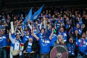 """Circa l'8% della popolazione islandese si trova in Francia per gli Europei: Premio """"You'll never walk alone"""""""