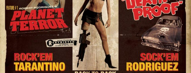 """Grindhouse"": Robert Rodriguez e Quentin Tarantino"