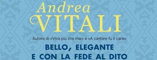 """Andrea Vitali a Binasco: """"Racconto per fatti non per teorie"""""""