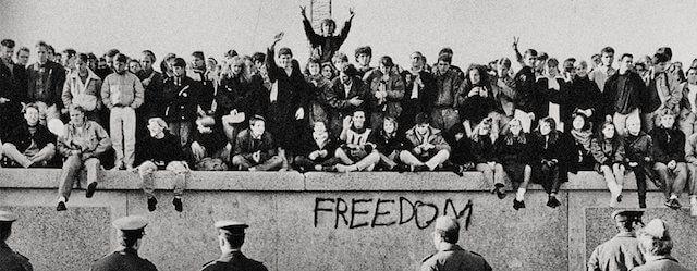 Muro di Berlino, ciò che rimane.