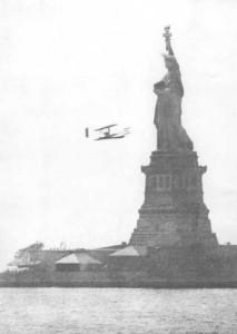 Volo intorno alla Statua della Libertà