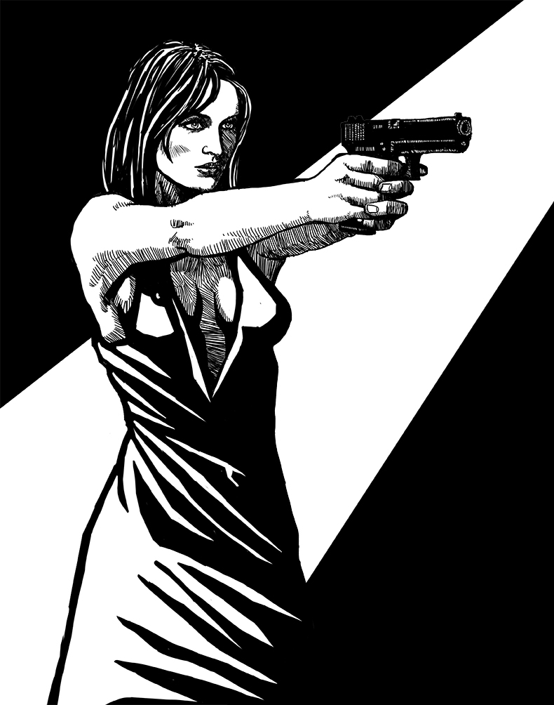 donna_con_pistola_n_by_stefanolabbia-dbbfoph