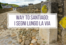 Way to Santiago #2: Signs along the way