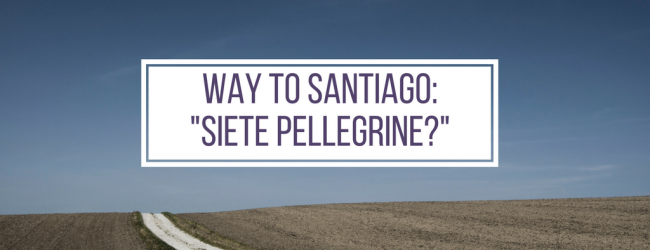 Way to Santiago #3: Are you pilgrims?