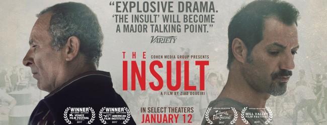 """Un courtroom-movie coraggioso: """"L'insulto"""""""
