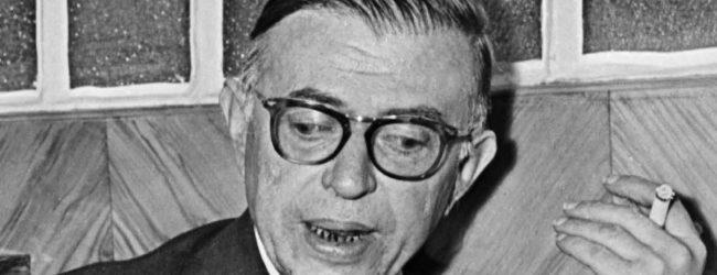 La fatica d'esser Jean-Paul Sartre