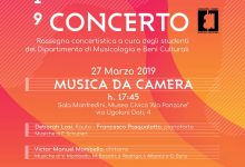 """Il Comitato Concerti 'Francesco Attanasi' presenta """"Università in Concerto 2019"""""""