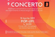 "POP-UP! L'evento più Popular di ""Università in Concerto 2019"" il 10 Aprile"