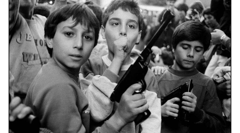 Foto di Letizia Battaglia, celebre fotoreporter di mafia.