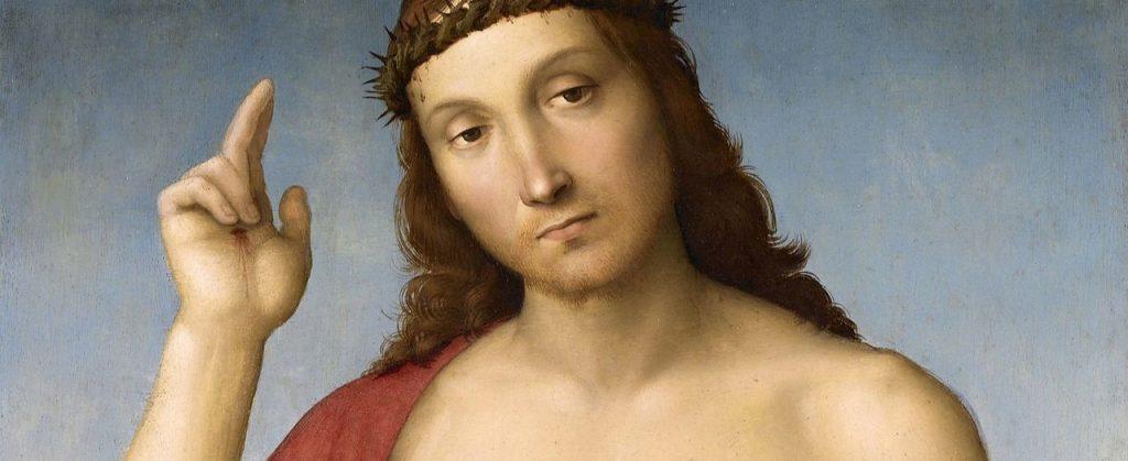 raffaello500-pittura-poesia-malinconia-cristo-benedicente