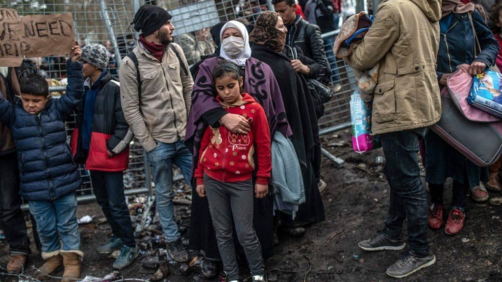 migranti confine grecia / turchia