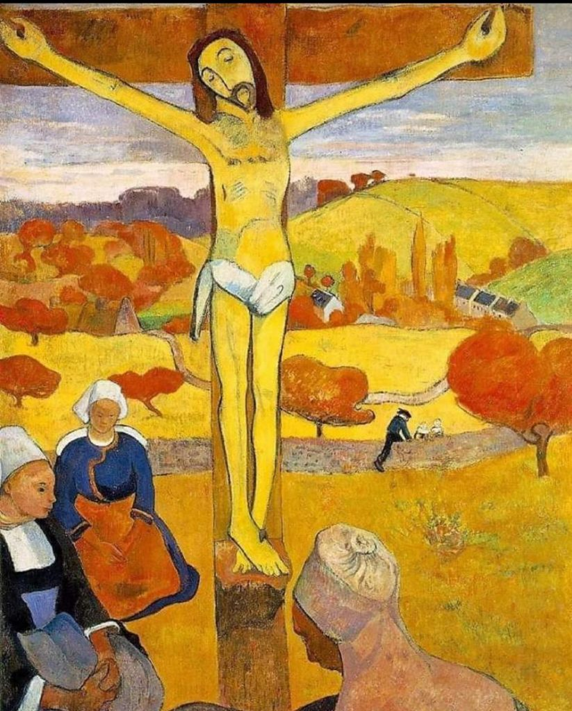 Il Cristo Giallo, colore, mistica, simbolismo