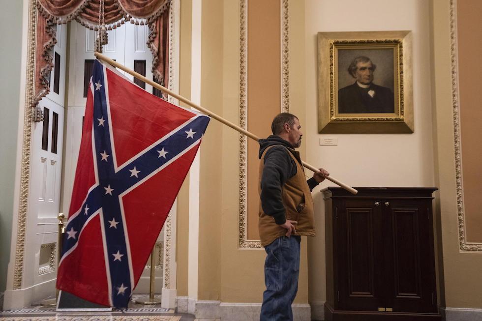 confederati-donald trump-sudisti-senato-ansa