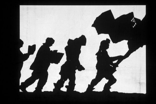 William Kentridge Shadow Procession