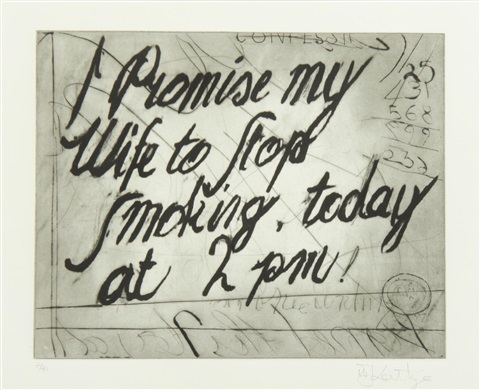 William Kentridge, Zeno Writing (2003),
