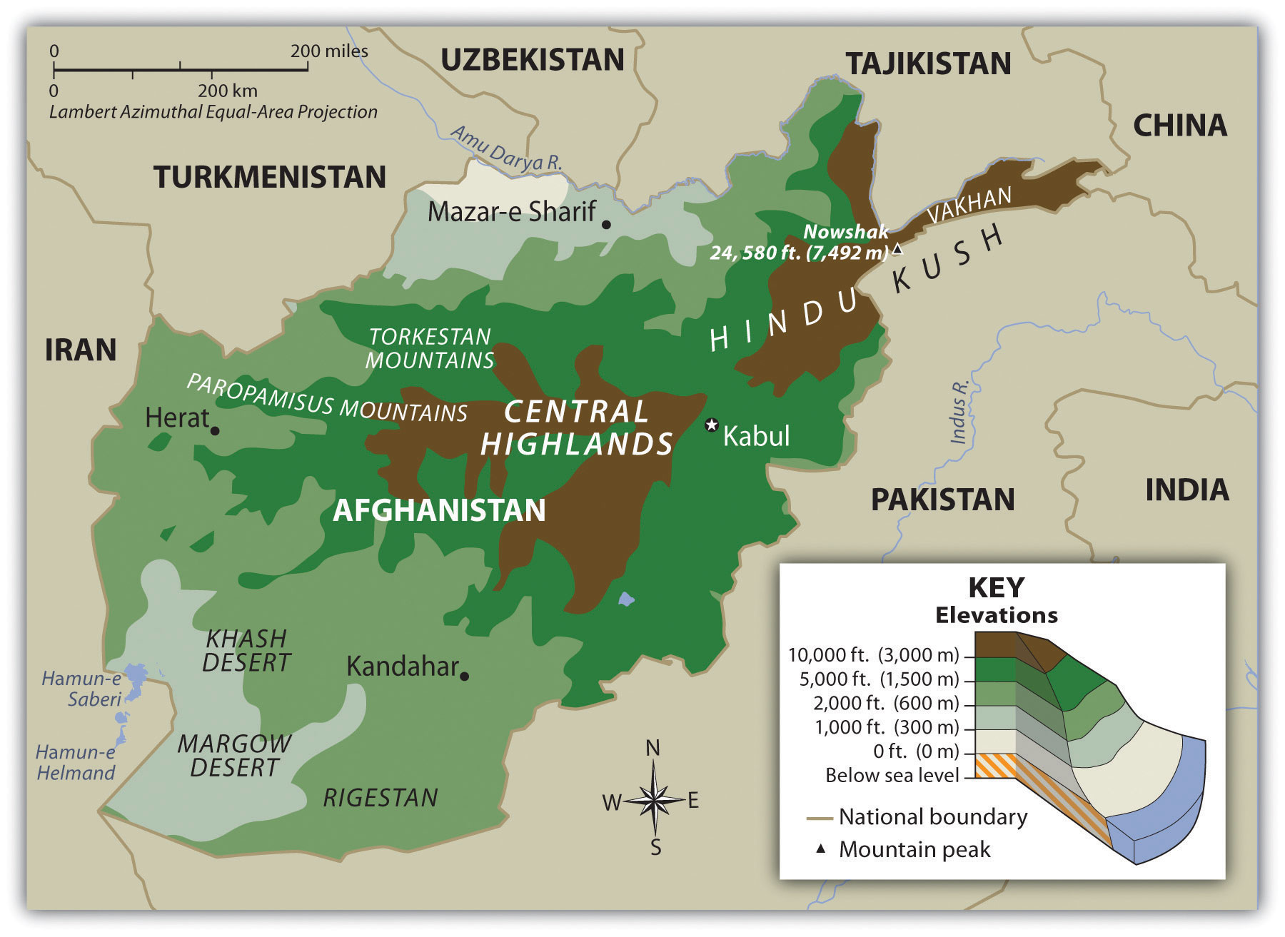 afghanistan-mappa